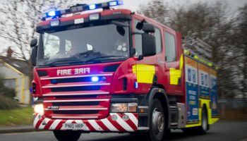Mother and baby rescued from blazing house at Frodsham