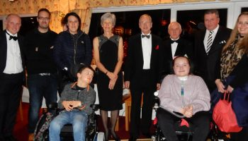 Golf club presents wheelchairs to deserving youngsters