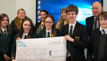 Ladies Circle's £1,000 donation to school