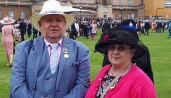Former Mayor and Chair of Council attend Royal Garden Party