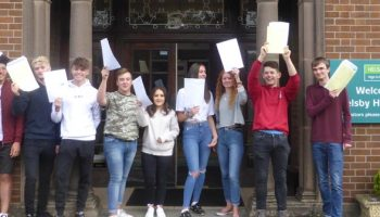 Excellent crop of A Level results at Helsby High School