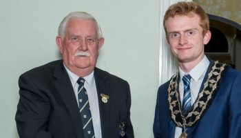 Liam installed as Frodsham's youngest-ever Mayor