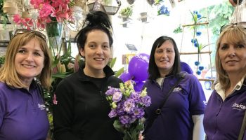 Stroke Association helps Frodsham turn purple!