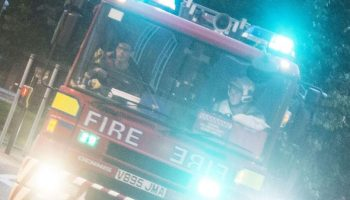 Two taken to hospital after Frodsham fire
