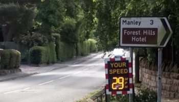 Smiley SID installed to tackle speeding traffic