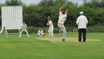Frodsham skipper Tom Wilkinson hits an unbeaten 50